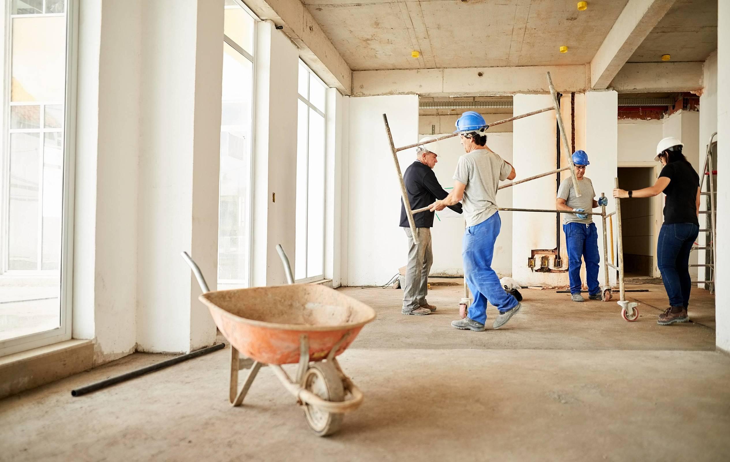 Conheça as 6 etapas de uma construção